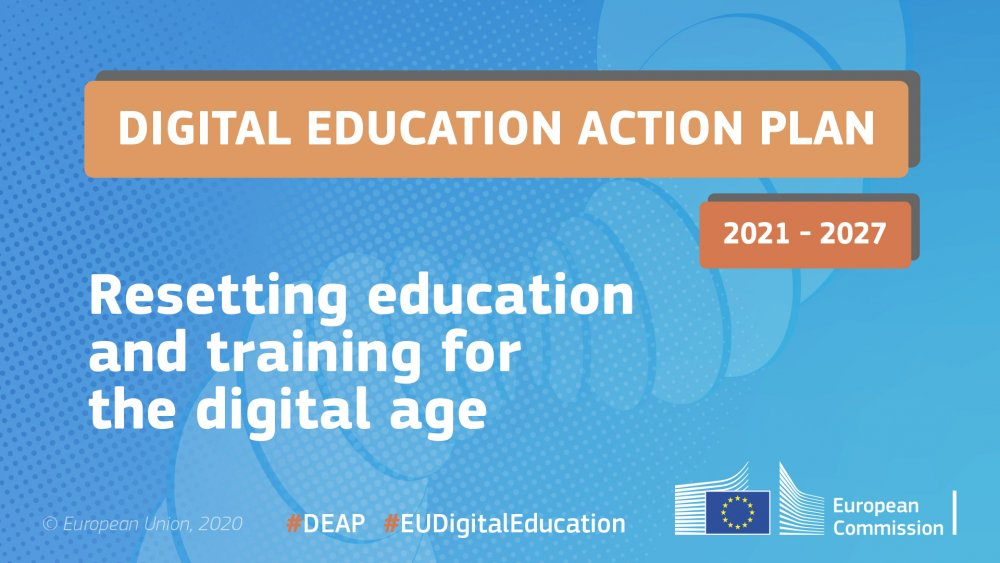 Graphic of the Action Plan for Digital Literacy
