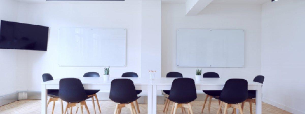 Leerer Konferenzraum