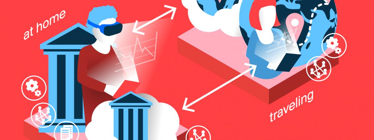 Reinventing education: Illustration of one scenario