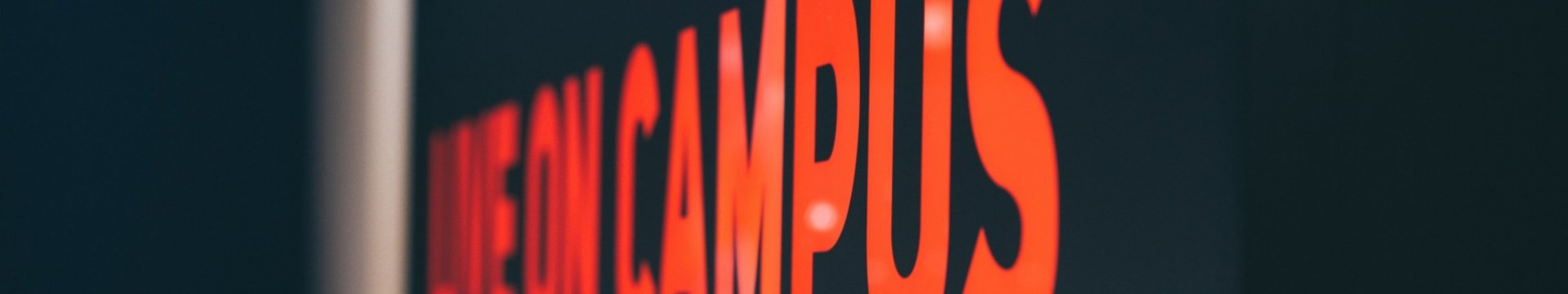 Campusschild.