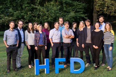 Teamfoto des HFD
