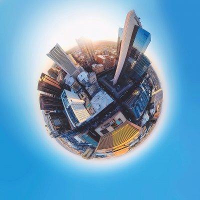 Eine Stadt in 360°!