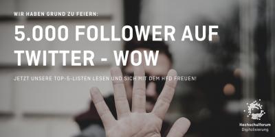 5.000 Follower