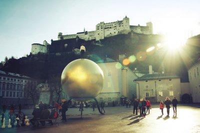 Foto Salzburg in sanftem Licht