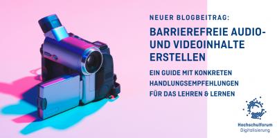 Videokamera in lilafarbenem Licht