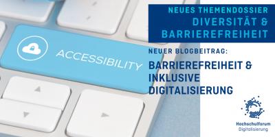 Beschreibendes Titelbild: Barrierefreiheit und inklusive Digitalisierung