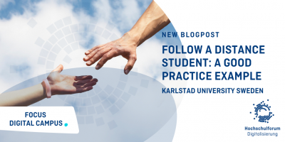 New Blog post: Follow a Distance Student: A Good practice Example. Karlstad University Sweden