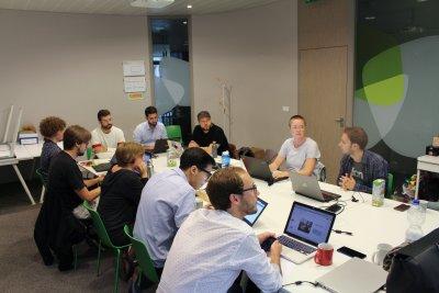 Auch in Brüssel wurde an den ChangeMaker-Projekten gearbeitet.
