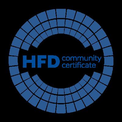 HFDcert: Von der Community. Für die Community. Mit der Community.