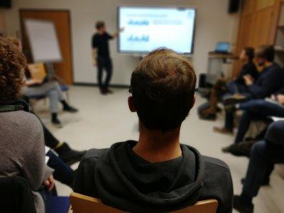 Vortrag zum Umgang von Studierenden mit digitalen Tools