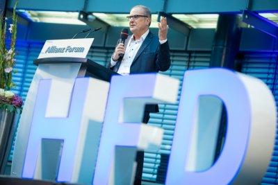 Joachim Metzner auf HFD-Bühne