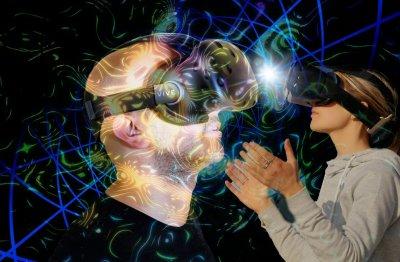 Einsatz von Virtual Reality beim Lernen.