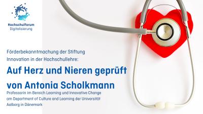Förderbekanntmachung der Stiftung Innovation in der Hochschullehre: Kommentar von Antonia Scholkmann