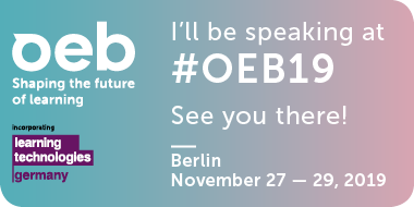 OEB 2019 - Shaping the future of learning