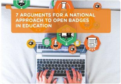 7 Argumente für einen nationalen Ansatz zur Öffnung von Badges in der Hochschulbildung.