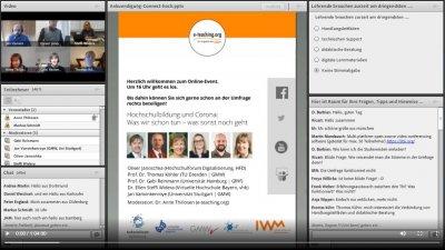 Ein Klick auf das Bild öffnet das Video zur Podiumsdiskussion.