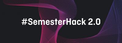 Coverbild zum Semesterhack 2.0, Hackathon am 12. und 13. November 2020