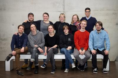 Gruppenfoto der Digitalen Changemaker