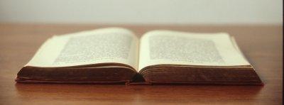 Bild Aufgeschlagenes Buch