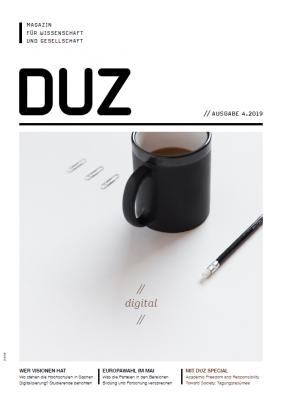duz-Titelseite 4/2019