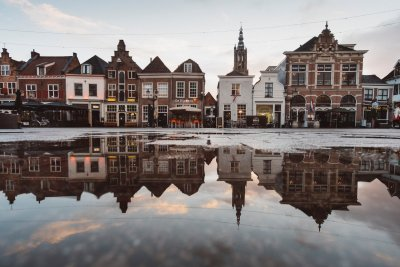 Häuserfassade Niederlande