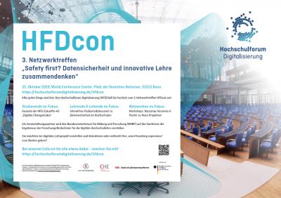 Plakat HFDcon