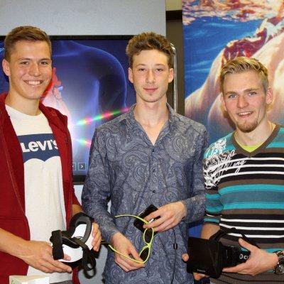 Phil, Alex und Lukas Werb