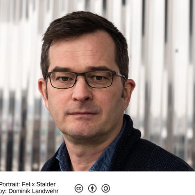 Felix Stalder. Foto:[http://felix.openflows.com/html/portrait.html Dominik Landwehr]
